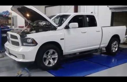 Ram 1500 hits the dyno at Peitz Performance Tunes. Area Near 68881 Westerville NE