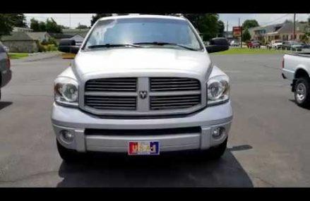 2008 Dodge Ram SLT Sport Quad Cab 1500 Silver Near 76087 Weatherford TX