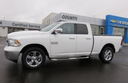 2013 Dodge Ram SLT 4WD Extended Cab White in 98660 Vancouver WA