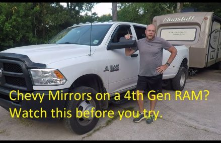 Weight Police – Chevy Mirrors on a 4th gen RAM? Watch this before you try. Area Near 18977 Washington Crossing PA