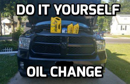 How to do an oil change on a RAM 1500 HEMI Local 20424 Washington DC