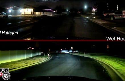 VisionPRO- Dodge Ram Xenon HiD & LED vs OEM Halogens Found at 3909 York ME