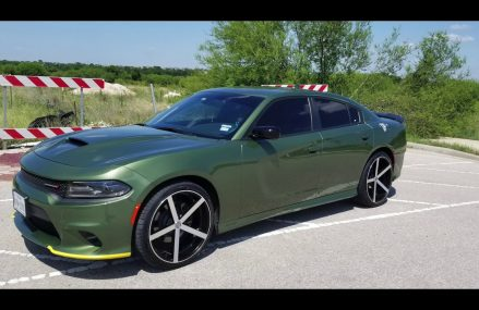 2018 Dodge Charger on 22s | Concave U2 Wheels Local Area 8004 Atco NJ
