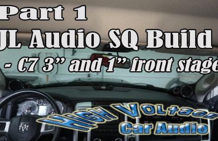 PART 1 – JL AUDIO SQ BUILD IN 2011 DODGE RAM 1500 in City 53096 West Bend WI