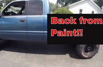 Dodge Ram 2500 2nd gen cummins Back from Paint in City 94597 Walnut Creek CA