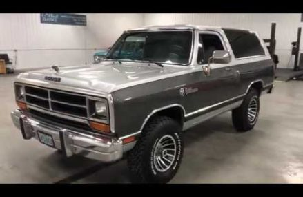 EXTRA CLEAN 1990 DODGE RAMCHARGER FROM FLORIDA & OREGON!! From 2886 Warwick RI