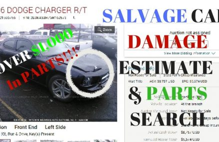 HOW TO Estimate DAMAGE and PARTS COST on SALVAGE CARS! Within Zip 40004 Bardstown KY