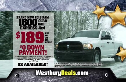 Westbury Deals – 2018 RAM 1500 Express Deal Around Streets in 1084 West Chesterfield MA