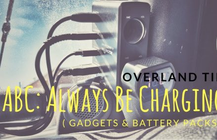 Overlander Tip:  Always Be Charging (A.B.C.) at 58712 Balfour ND