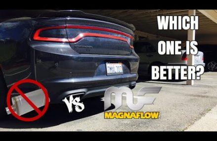 MUFFLER DELETE VS MAGNAFLOW | 2016 CHARGER SE Around Zip 62221 Belleville IL
