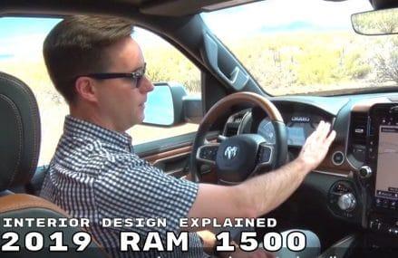 2019 RAM 1500 Interior Design Explained Area Near 91388 Van Nuys CA