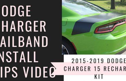 2015-2019 Dodge Charger Deck Lid & Rear Quarter Stripe Decals Within Zip 48002 Allenton MI