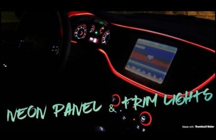 Dodge Charger RT Panel and Trim Glow light (use on any car) ! Now at 46705 Ashley IN