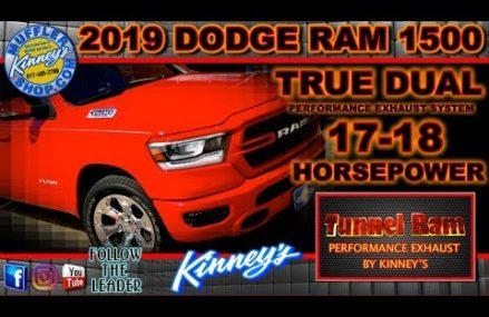 2019 Dodge Ram 1500 True Dual Exhaust Tunnel Ram by Kinney's Local Area 69168 Venango NE