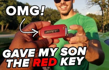 I gave my son the RED Key to the Dodge Hellcat… From 32421 Altha FL
