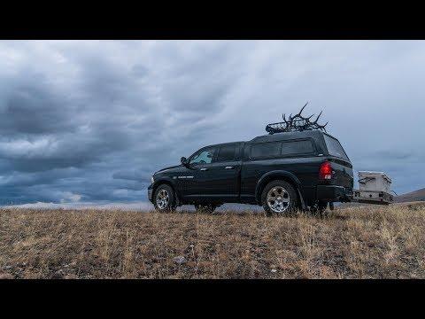 BUILD THE ULTIMATE HUNTING RIG - Mobile Elk Hunting Truck Dodge Ram Camper Shell