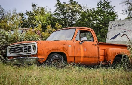 ABANDONED Junkyard Truck Runs and Drives After 13 Years For 79168 Amarillo TX