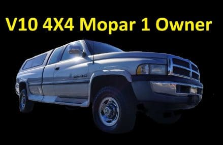 DODGE RAM V10 4X4 1 OWNER FOR SALE PICKUP TRUCK REVIEW VIDEO Zip Area 2132 West Roxbury MA