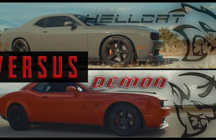 Dodge Demon vs. SRT Hellcat | 1/2 Mile Drag Race // Is the 840HP Challenger Worth The Price? at Magee 39111 MS