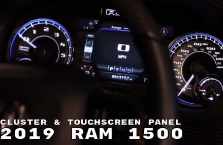 2019 Ram 1500 Truck Uconnect 7 inch Cluster & Touchscreen Panel Interior Near 99662 Scammon Bay AK