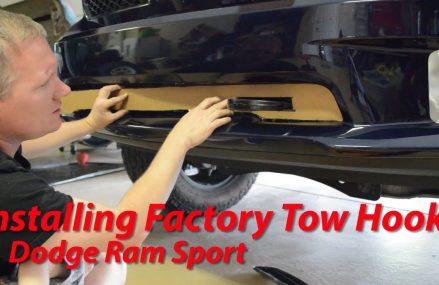 Installing Factory Tow Hooks – Dodge Ram Sport – 4th Gen Local 60973 Wellington IL