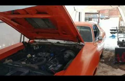 1972 Dodge Charger – Cold Start after 4 months storage Local Area 5030 Ascutney VT