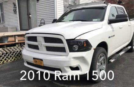 2010 Ram 1500 move bumper build Local 41179 Vanceburg KY
