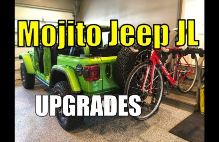 Mojito Jeep JL Bike Rack Setup, Shorty Antenna, and Jeep Floor Mats Local Area 20469 Washington DC