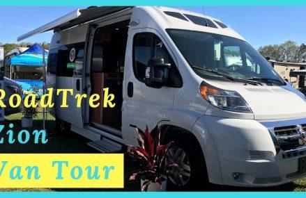 RoadTrek Zion Van Tour   Full Time RV Living Zip Area 49453 Saugatuck MI