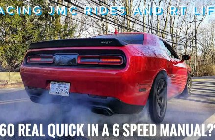 How To Launch a Stick Shift 6 Speed From 0-60 Hellcat Challenger Local Area 17504 Bausman PA