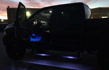 RAM 1500 footwell and underhood light demo at 32790 Winter Park FL