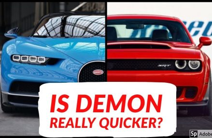 2018 Dodge Demon vs Bugatti Chiron || Top Speed and Acceleration Comparison For 45814 Arlington OH