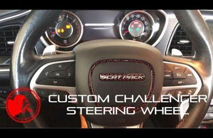 Custom Scat Pack Challenger Steering Wheel Badges From 68310 Beatrice NE