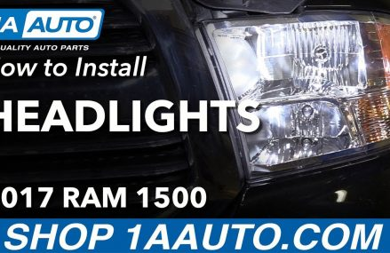 How to Install Replace Headlights 2011-17 Ram 1500 Locally at 76715 Waco TX