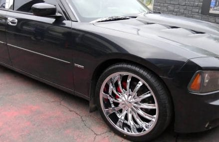 2007 DODGE CHARGER HEMI WITH 22 INCH CUSTOM RIMS & TIRES From 93383 Bakersfield CA