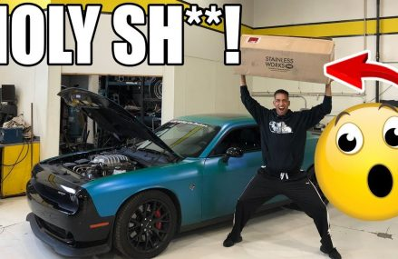 THE NEW HEADERS FOR MY HELLCAT HAVE ARRIVED!! at 95912 Arbuckle CA