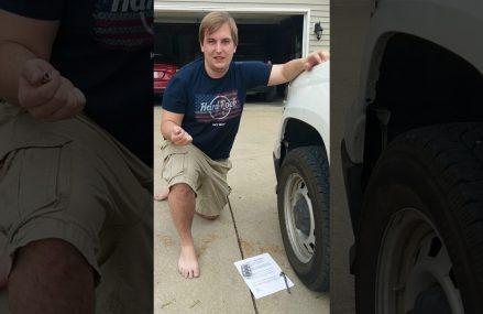 EZ Read Tire Cap Installation Around Zip 84713 Beaver UT