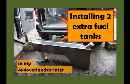 Installing 2 extra fuel tanks and the air compressor in 11594 Westbury NY