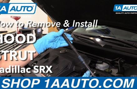 How to Remove & Install a Hood Strut on a 2013 Cadillac SRX at 88058 San Miguel NM