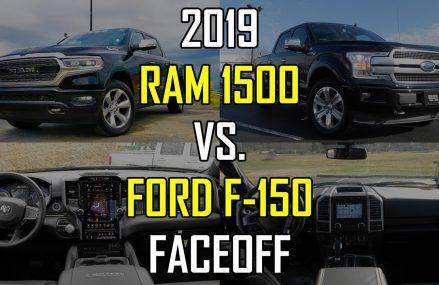 2019 RAM 1500 Limited vs. 2018 Ford F-150 Platinum: Faceoff Comparison Found at 24589 Scottsburg VA