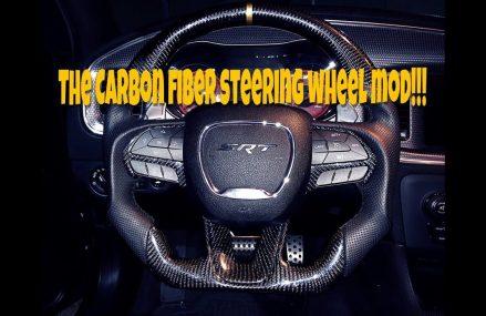 DIY: Carbon Fiber Steering Wheel Installation at 79313 Anton TX