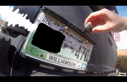 MAKING A CUSTOM LICENSE PLATE LIGHT AND MOUNT in City 34498 Yankeetown FL