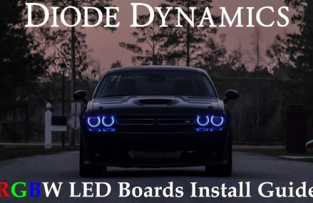 How to Install 2015+ Dodge Challenger RGBW DRL LED Boards Within Zip 16603 Altoona PA