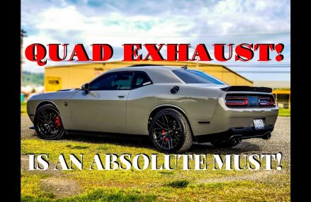 QUAD EXHAUST is an ABSOLUTE MUST! From 4606 Addison ME