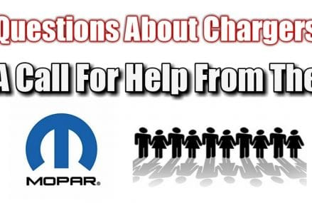 Calling out to the Mopar community. Help answer questions about the Charger. Within Zip 15411 Addison PA