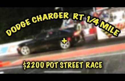 Dodge Charger RT 1/4 Mile + $2200 Street Race Near 32105 Barberville FL