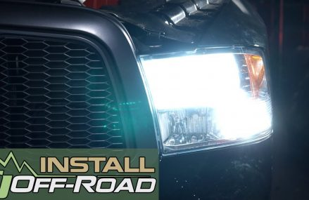 Dodge Ram PUTCO LED Headlight Bulbs Install: Low Beam Cool White Silver-Lux H11 Local 25938 Victor WV