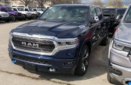 ALL NEW 2019 RAM IN PATRIOT BLUE | Unique Chrysler Dodge Jeep Ram Burlington in City 93407 San Luis Obispo CA