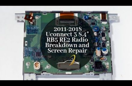 Dodge Dart Charger Journey 8.4 RB5 RE2 Radio Touch Screen Breakdown and Repair in 75752 Athens TX