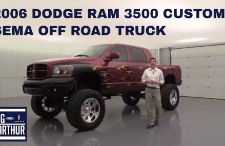 2006 DODGE RAM 3500 CUSTOM SEMA TRUCK NP4647 in City 34498 Yankeetown FL